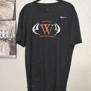 Wartburg College Football Large NIKE dri-fit shirt